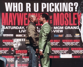 Mayweather vs. Mosley FIGHT CALENDAR for May 2010