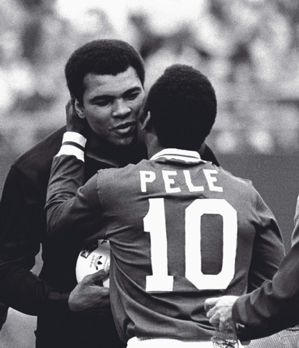 Ali Pele World Cup and Boxing Cross Paths
