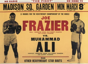 ALI FRAZIER 0001 crop 40th  Anniversary   FIGHT OF THE CENTURY