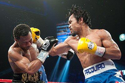 pacman PACQUIAO   MOSLEY FIGHT CARD RECAP