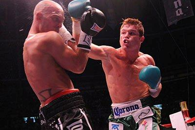 canelo Alvarez wins easily!