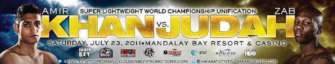khan judah FIGHT CALENDAR for July 2011
