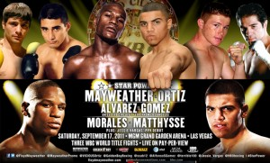 boxing calendar mayweather ortiz 300x181 FIGHT CALENDAR for September 2011