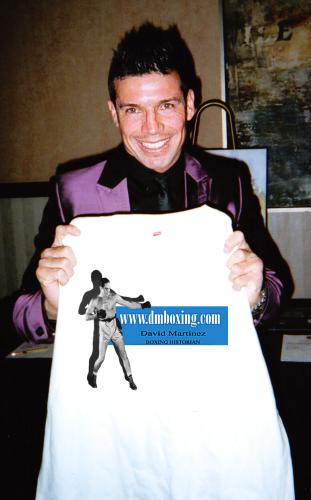 Sergio Martinez t shirt DMBoxing.com T Shirt