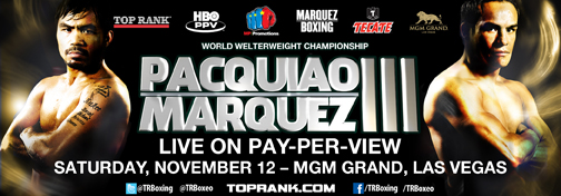 pacquiao marquez FIGHT CALENDAR for November 2011
