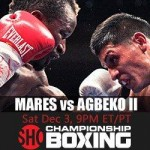 boxing calendar Dec 2011 Mares Agbeko