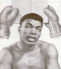 Muhammad Ali Black and white Happy Birthday ~ ALI