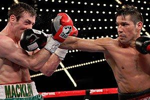 macklin Martinez wins decisively on HBO!