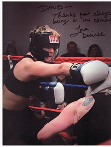 Desiree How I Discovered Boxing