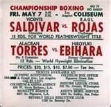 fightcard tapia R.I.P. Johnny Tapia & Raul Rojas