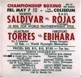 fightcard tapia R.I.P. Johnny Tapia & Raul Rojas