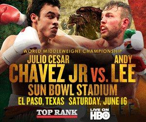 Chavez Lee A Night of Heavyweights and Chavez Shows Improvement