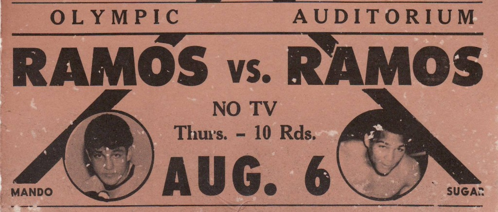 Ramos vs. Ramos crop 1024x437 The Olympic Auditorium: A Look Back at a Grand Venue   (Part 1 of 2)
