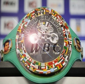 WBC Belt 300x295 WBC Ratings   February 2014