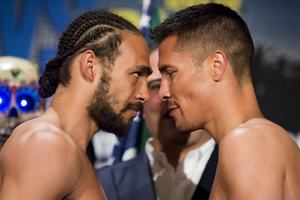 thurman diaz weigh in300 RECAP   Last Weeks Showtime Card and Mayweather vs. Maidana Thoughts