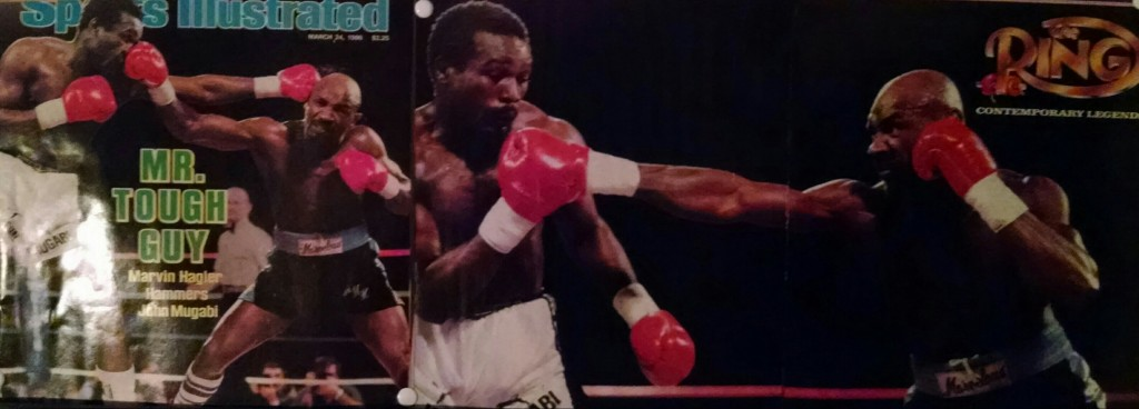 Hagler Mugabi 1 1024x368 Marvin Hagler vs. John Mugabi (Round 6)