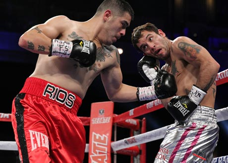 Rios Chaves460 Rios wins by DQ ... Vargas and Kovalev retain titles