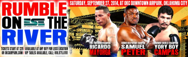 September FIGHT CALENDAR for September 2014