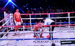 GGG 2 300x186 Golovkin by KO over Murray, retains WBA middleweight title