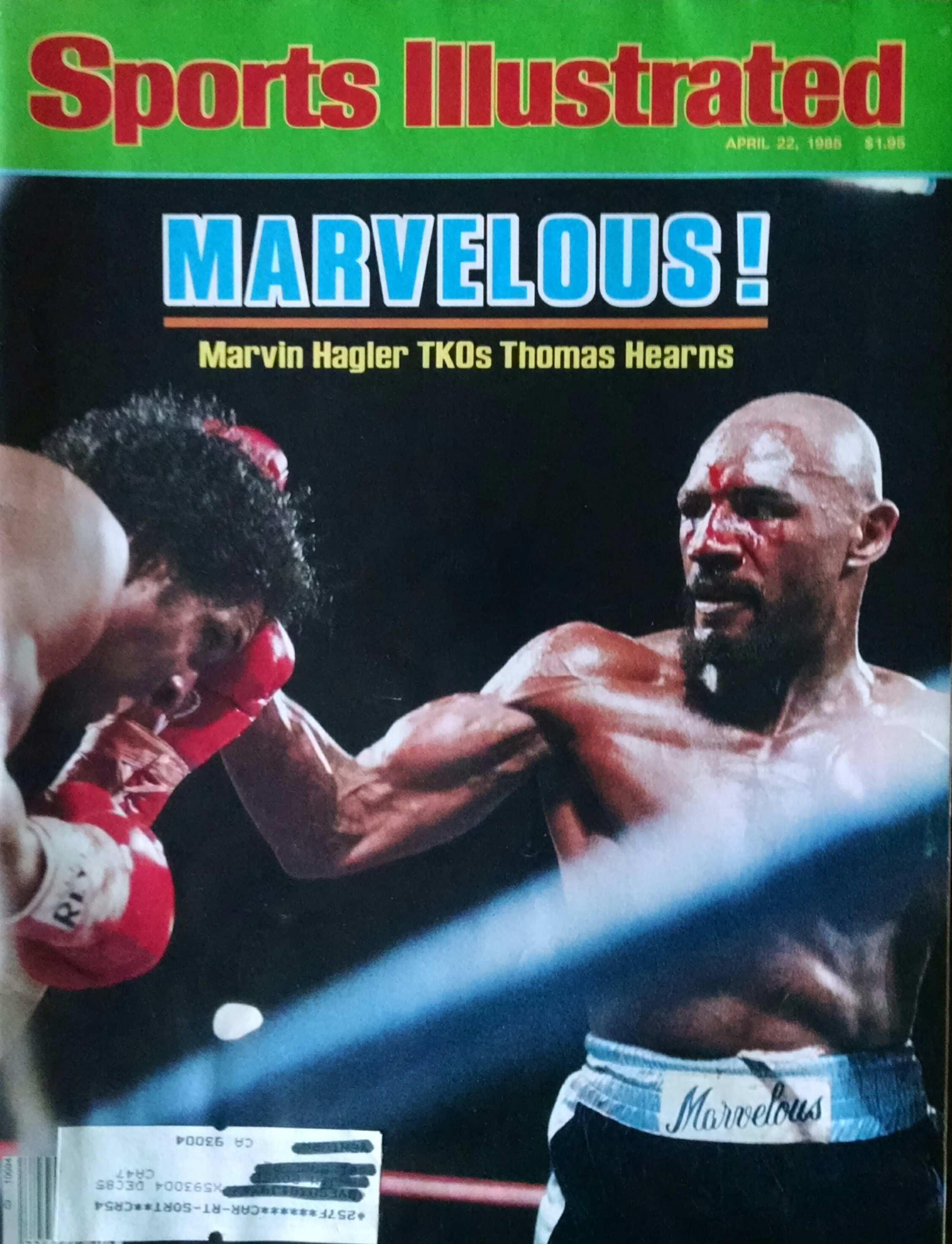Marvelous Marvin Hagler David Martinez Boxing