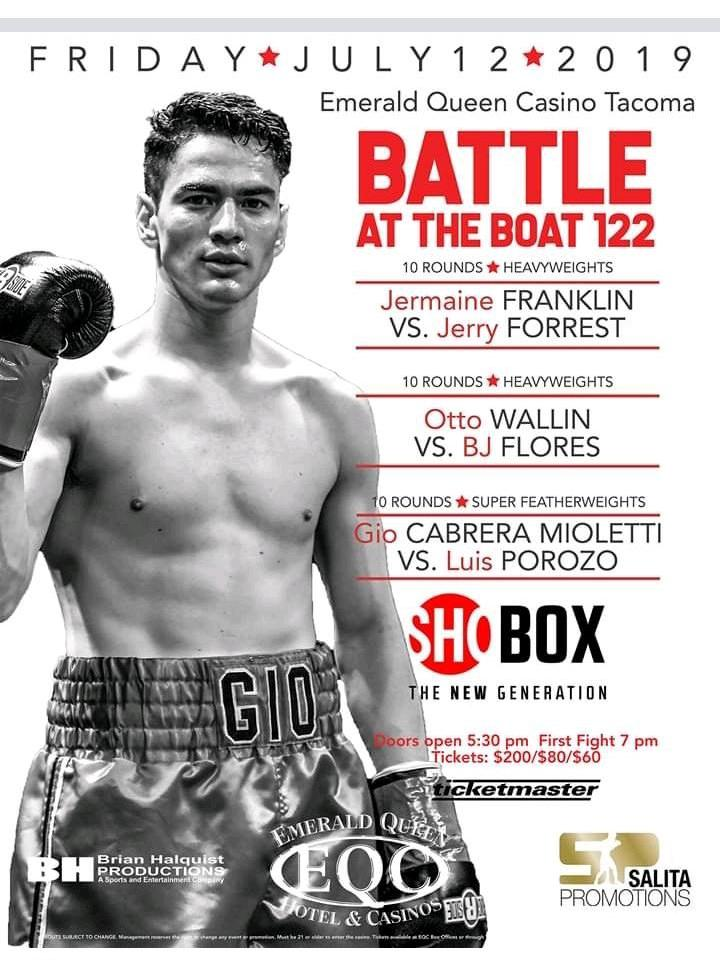 FIGHT CALENDAR for July 2019 | David Martinez Boxing